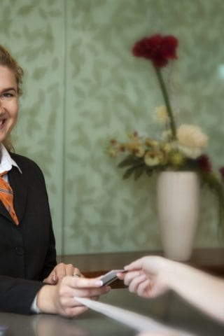 Maldron Hotel Smithfield Friendly Receptionist