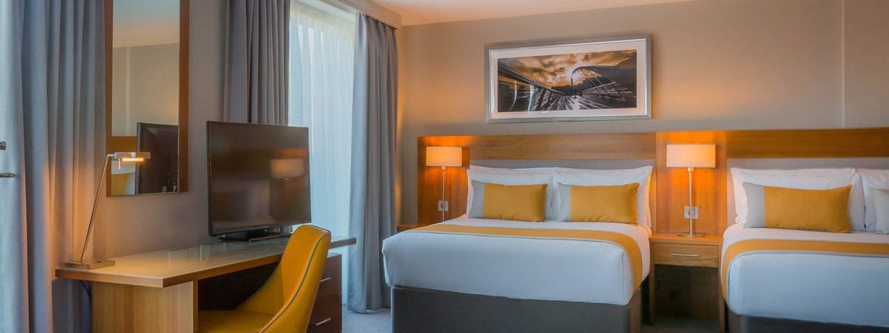 Spacious Junior Suite at Maldron Hotel Smithfield
