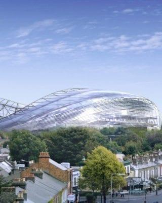 Aviva Stadium from the Outside