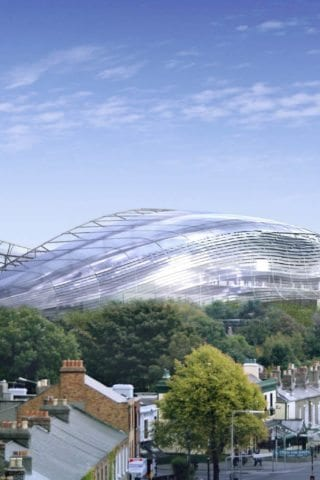 Aviva Stadium from the Outside
