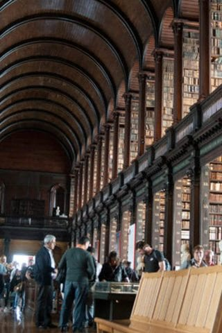 Trinity College Library from the Inside